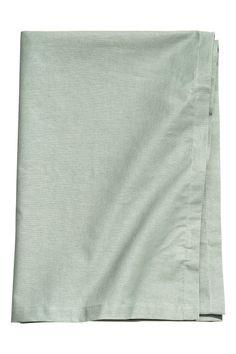 Nappe en coton - Vert ancien - Home All   H&M CA 1