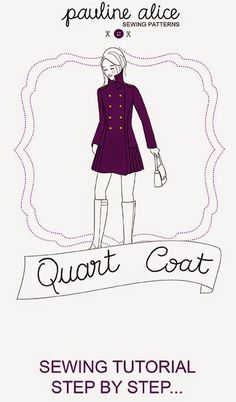 Here it is, the Quart coat tutorial! Clic here to download the PDF of the tutorial. Clic here to...