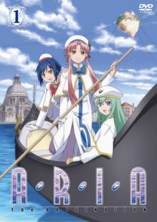 Aria - Slice of Life, Sci-Fi, Fantasy Aria is a three part anime. The first part introduces the characters, the second introduces the world. Gorgeous art work, and Aria itself is well thought out. Mostly an episodic series. It is recommended to start on Aria the Animation.