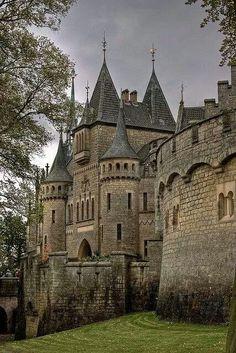 Marienburg Castle, Hanover, Germany photo via angelia