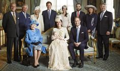 A portrait of a modern monarchy: Informal picture shows happy and relaxed Royal Family rubbing shoulders with the Middletons