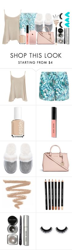 """Summer sleepover//Tahlia"" by classy-girls-xo ❤ liked on Polyvore featuring WearAll, Essie, Bobbi Brown Cosmetics, Victoria's Secret and Michael Kors"