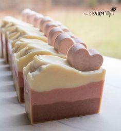 Valentine Soap with Hearts Recipe