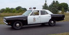 Police car from the TV show Adam12