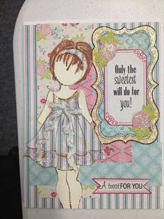 More Julie Nutting doll stamps