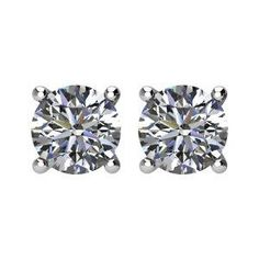 a0263d058 10 Top Diamond stud earrings images | Diamond Earrings, Diamond ...