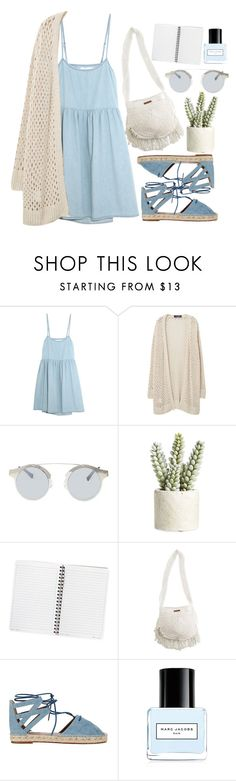 Everyday by arvpea on Polyvore featuring мода, The Great, Violeta by Mango, Aquazzura, Billabong, Forever 21, Marc Jacobs and Allstate Floral