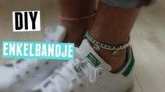 DIY zomers enkelbandje #2 ♥ MADEBYNoelle