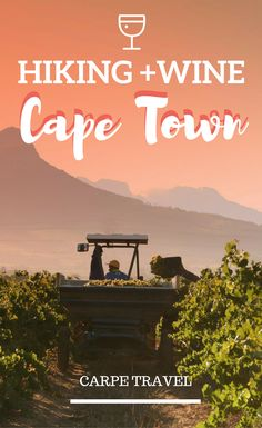 Is there anything better than wine and some fun in the nature in the Cape Winelands in Cape Town, South Africa? Probably not. Read on to discver what to do in the wine town of Paarl, Stellenbosch and Franschoek. Cape Town wine country | Cape Town wine route | Cape Town wine tasting | Stellenbosch wineries - via @Elainschoch
