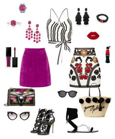 """Summer/17"" by madonna-kazaryan on Polyvore featuring мода, Alice + Olivia, Dolce&Gabbana, L.K.Bennett, Kate Spade, Gucci, Valentino, Rolex, Oscar de la Renta и Miu Miu"