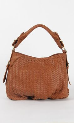 I want to get a Woven Cognac Purse