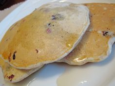 Blueberry Banana Pancakes - Food & Whine