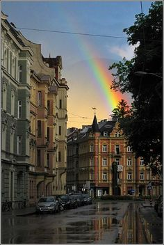 Rainbow in Innsbruck - Austria