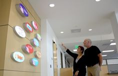 Unveiling art at new Registrar of Voters building