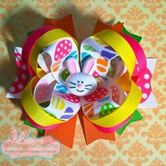 Easter Bow. LOVE this!