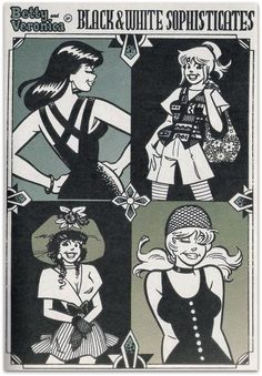Veronica and Betty, Archie Comic Publications, Inc. https://www.pinterest.com/citygirlpideas/archie/