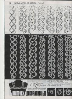 #lace #crochet Natalia Sautkin. wonderful page #patterns