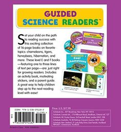 Guided Science Readers Parent Pack: Levels E-F: 12 Fun Nonfiction Books That Are Just Right for New