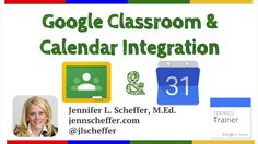 Google Classroom is now Integrated with Calendar. See this new feature in action!