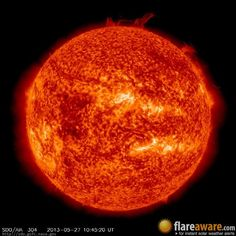 The hourly sun (at 10:45 am  UTC on 27 May 2013)