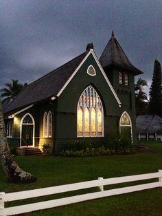 Hanalei Kauai Hawaii church