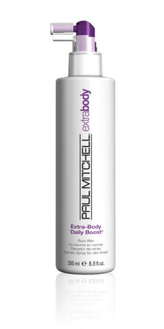 Paul Mitchell Extra Daily Boost Root Lifting Spray, which keeps the roots of your hair volumized  all  day  . | 29 Products That Make Thin Hair Look Super Thick
