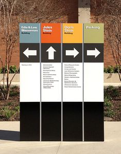 [ b ] clear directional signage. virtual domain - Domains - Ideas of Domains - [ b ] clear directional signage. Signage Board, Park Signage, Directional Signage, Wayfinding Signs, Signage Display, Event Signage, Outdoor Signage, Signage Design, Entrance Signage