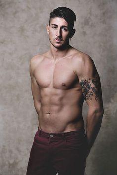 #man #model Domenico