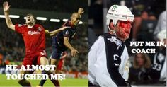 HOCKEY. Tis but a scratch! Tickld - Spread Laughter and Cure Boredom