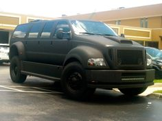 Armored Ford Excursion - My dream ride if the undead rule the world. The only setback is its gas mileage