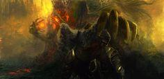 Dark Souls 3 Contest Piece - Darksign by Re-dye