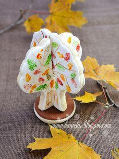 ~3D Fall Cookie Tree Centerpiece~