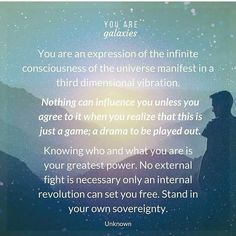 You are galaxies! #metaphysics #raisingyourvibration