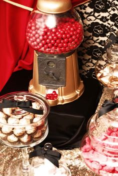 Burlesque . . . Would love to have a candy bar like this @ my 21st!!!