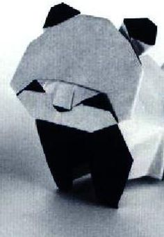 Giant panda #ClippedOnIssuu from Akira Yoshizawa - Origami Museum Animals