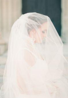 Here comes the bride ..