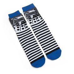 Doctor Who Cushion Slipper Socks with Treads - Dalek ($9.99)