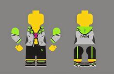 Nadia Santoso: Sporty Gal Lego Design