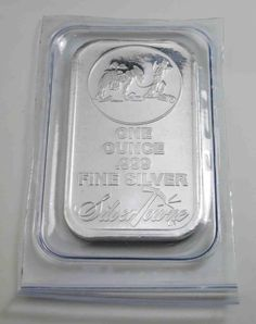 USA Silver Bar Prospector SilverTowne 1 OZ [1598