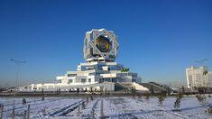 Palacio de Bodas #ashgabat #tuskmenistan #asia #travel #tourism #takemysecrets