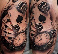 Guys Tattoos Dice