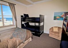Kids mini bunk beds, save room by having smaller bunks