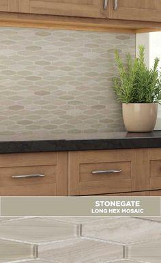 #tile #lowes #mosaics #glassmosaics #backsplash ST440LHWD1212 Available at Lowe's and Lowes.com