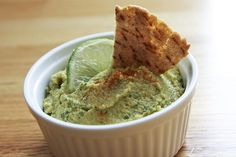 Spicy Cilantro Lime Hummus