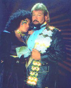 Ted DiBiase and Sherri Martel