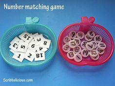 Preschool number game - 1