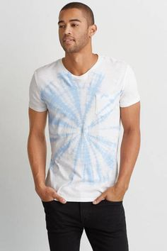 AEO Graphic T-Shirt by AEO | Your favorite T, now even better than ever with a new classic fit. Washed for softness
