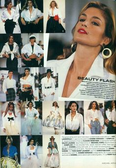 Spring '92 Runway Report from Vogue February 1992