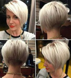 10. Short Colored Hairstyle