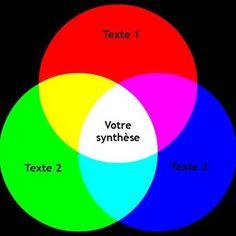 synthèse pour le DALF C1 schéma